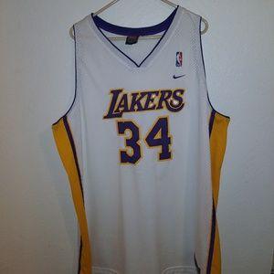 Nike NBA Lakers Jersey SHAQ #34 size XXXL